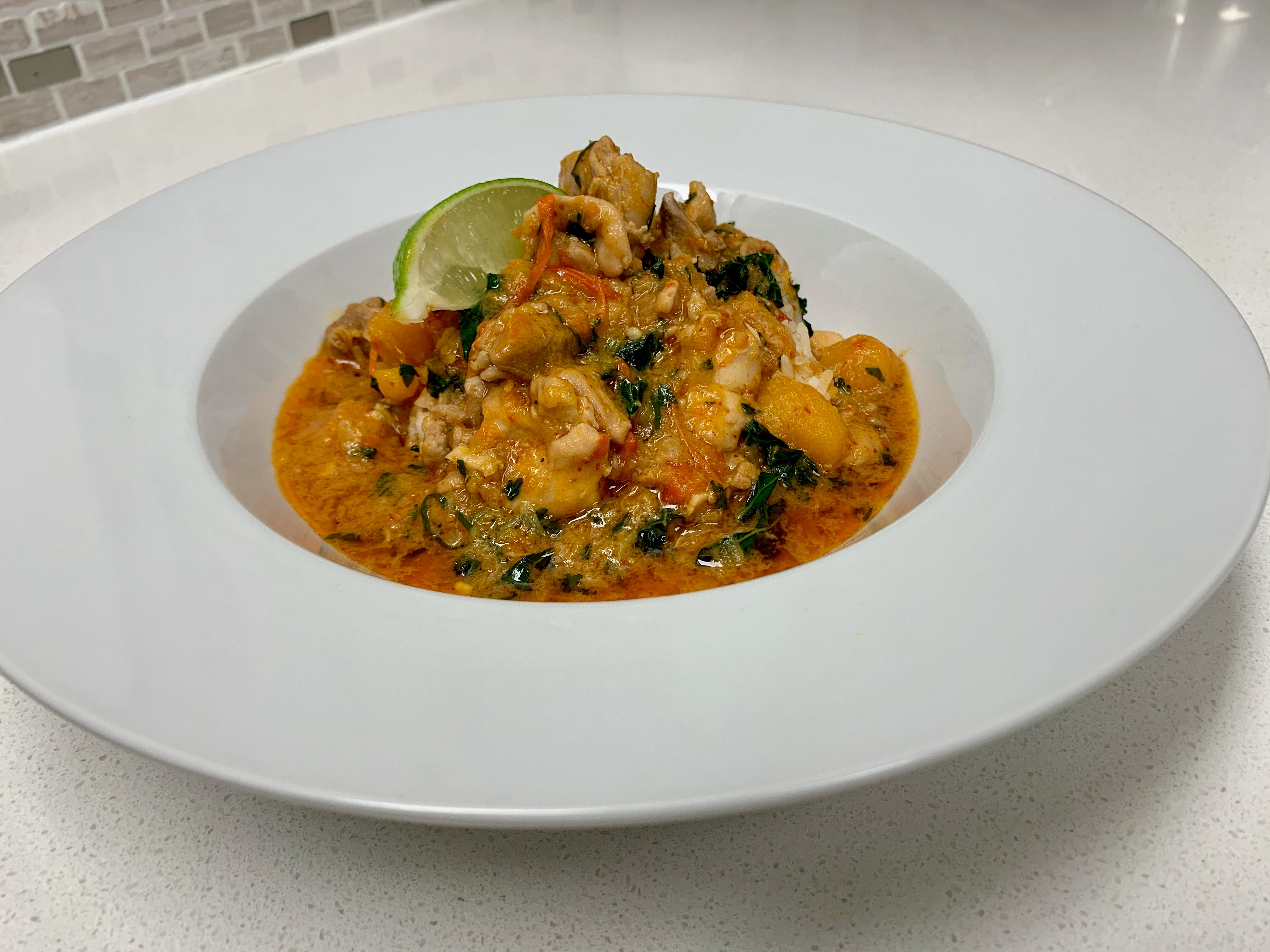 BC Inspired Thai Chicken Curry