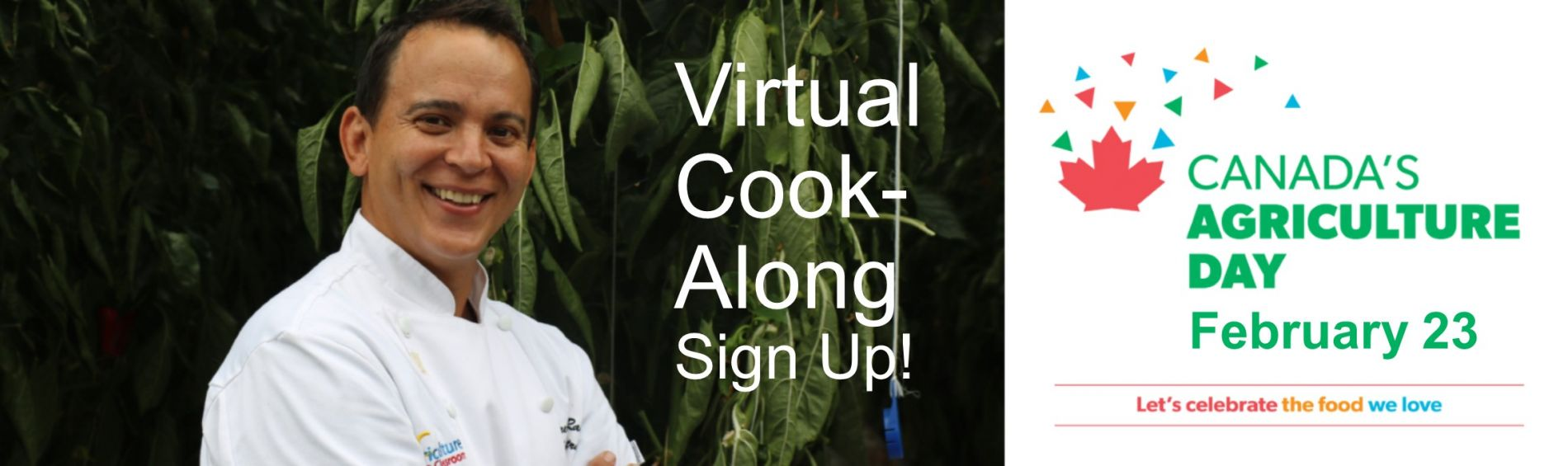 Cook-Along with Celebrity Chef Randle